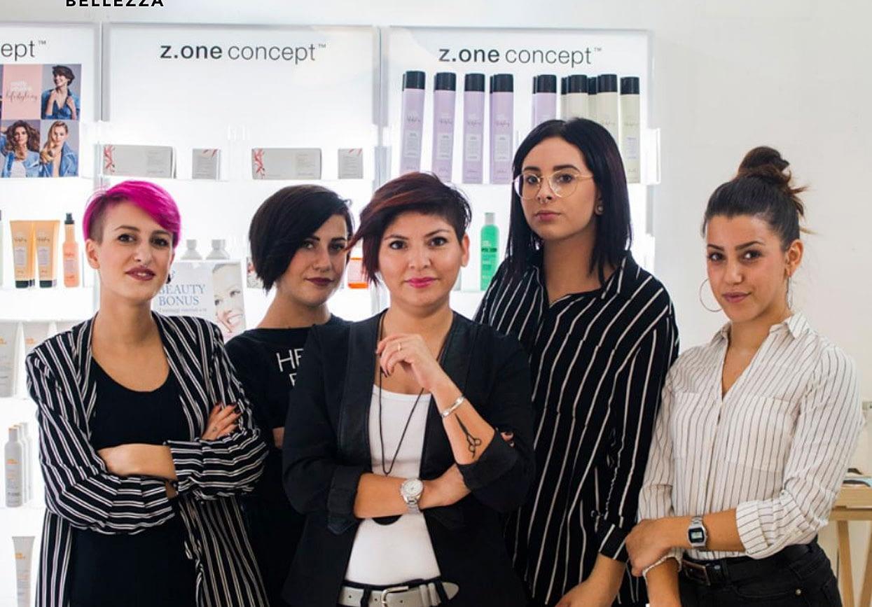 Lo staff di Andrea Hair Stylist parrucchiere a Lodi
